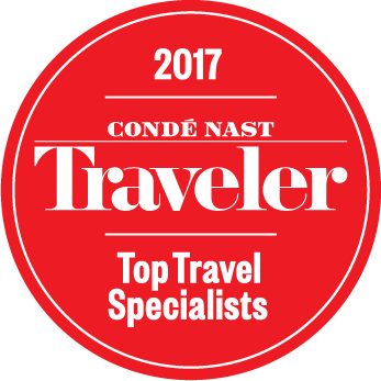 Conde Nast Traveler 2017 Travel Specialists